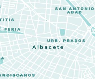 mapa de albacete