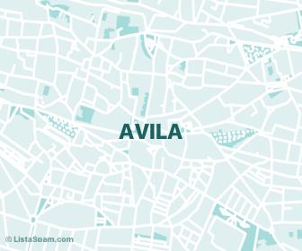 mapa de avila