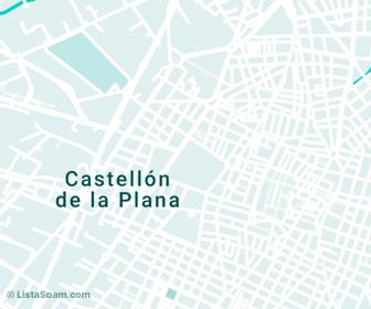 mapa de castellon