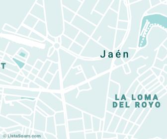 mapa de jaen
