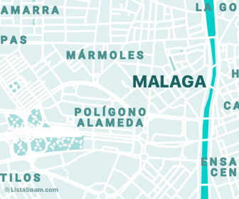 mapa de malaga